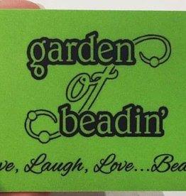 $25 Garden of Beadin' Gift Card