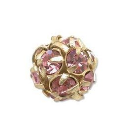 2 PC GP 8mm Rhinestone Balls : Rosaline