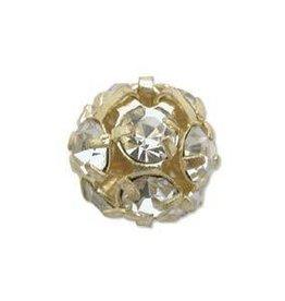2 PC GP 10mm Rhinestone Balls : Crystal