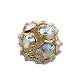 2 PC GP 12mm Rhinestone Balls : Crystal AB