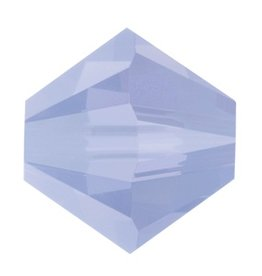 24 PC 3mm Swarovski Bicone (5328) : Air Blue Opal