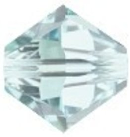 24 PC 4mm Swarovski Bicone (5328) : Light Azore