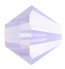 24 PC 4mm Swarovski Bicone (5328) : Violet Opal