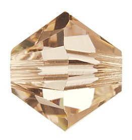 12 PC 6mm Swarovski Bicone (5328) : Silk