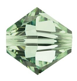 12 PC 6mm Swarovski Bicone (5328) : Chrysolite
