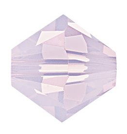 12 PC 6mm Swarovski Bicone (5328) : Rose Water Opal