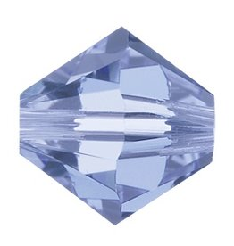 6 PC 8mm Swarovski Bicone (5328) : Light Sapphire