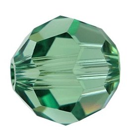 12 PC 6mm Swarovski Round (5000) : Erinite