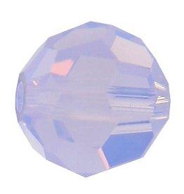12 PC 6mm Swarovski Round (5000) : Violet Opal