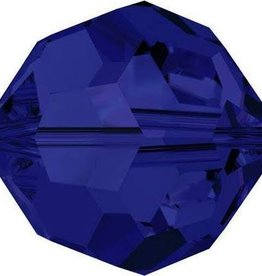 6 PC 8mm Swarovski Round (5000) : Dark Indigo