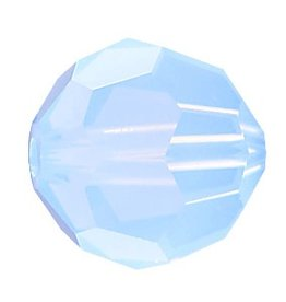 6 PC 8mm Swarovski Round (5000) : Air Blue Opal