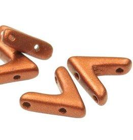 10 PC 10x4mm AVA® Bead : Copper