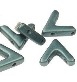 10 PC 10x4mm AVA® Bead : Pastel Petrol