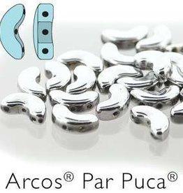 10 GM 5x10mm Arcos Par Puca : Argentees (APX 50 PCS)