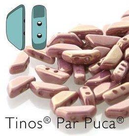 10 GM 4x10mm Tinos Par Puca : Opaque Violet Gold Luster (APX 50 PCS)