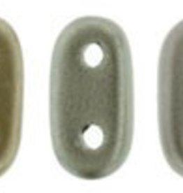 10 GM 2x6mm 2 Hole Bar : Matte Metallic Leather (APX 140 PCS)
