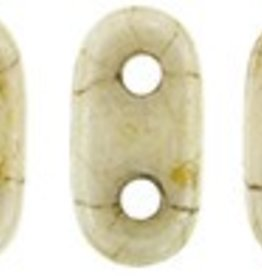 10 GM 2x6mm 2 Hole Bar : Opaque Luster Picasso (APX 140 PCS)