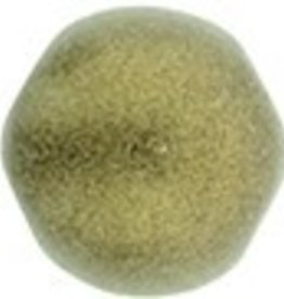 10 GM 7mm Cabochon : Metallic Suede Gold (APX 25 PCS)