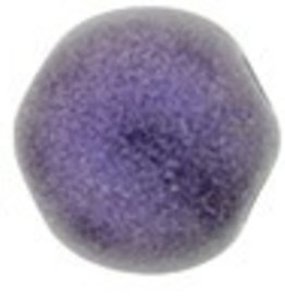 10 GM 7mm Cabochon : Metallic Suede Purple (APX 25 PCS)