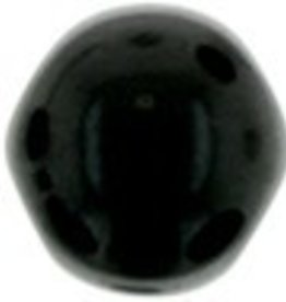 10 GM 7mm Cabochon : Jet (APX 25 PCS)