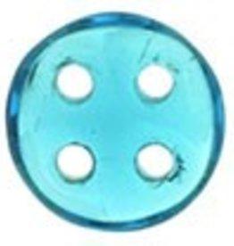 10 GM 6mm QuadraLentil : Teal (APX 90 PCS)