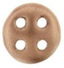 10 GM 6mm QuadraLentil : Matte Metallic Bronze Copper (APX 90 PCS)