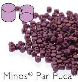 10 GM 2.5x3mm Minos Par Puca : Pastel Bordeaux (APX 200 PCS)