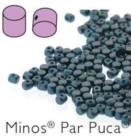 10 GM 2.5x3mm Minos Par Puca : Pastel Petrol (APX 200 PCS)