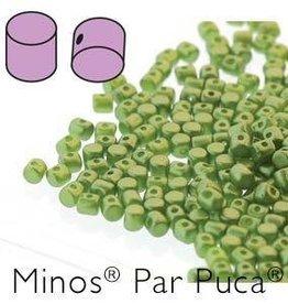 10 GM 2.5x3mm Minos Par Puca : Pastel Olivine (APX 200 PCS)