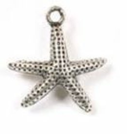 1 PC ASP 21x19mm Starfish Charm