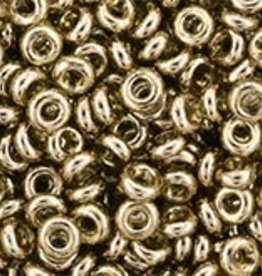7 GM Toho Demi Round 8/0 : Gold-Lustered Montana Blue (APX 550 PCS)