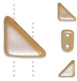 10 GM 8x6mm Tango™ 2 Hole Bead : Cream Airy Pearl (APX 65 PCS)