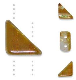 10 GM 8x6mm Tango™ 2 Hole Bead : Lumi Apricot (APX 65 PCS)