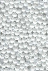 10 GM 2.8mm Miyuki Drop : White Pearl (APX 310 PCS)