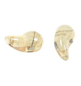 50 PC 5x8mm ZoliDuo® Bead (RIGHT) : Champagne
