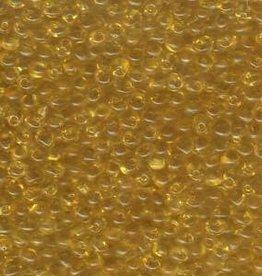 10 GM 3.4mm Miyuki Drop : Transparent Light Amber (APX 200 PCS)