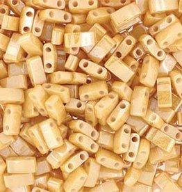 10 GM 5mm Tila 1/2 Cut : Light Caramel Ceylon (APX 250 PCS)