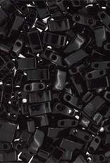 10 GM 5mm Tila 1/2 Cut : Black (APX 250 PCS)