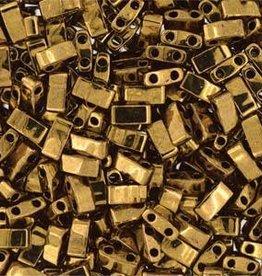 10 GM 5mm Tila 1/2 Cut : Dark Bronze (APX 250 PCS)