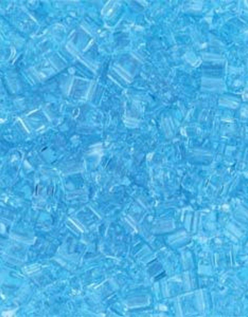 10 GM 5mm Tila 1/2 Cut : Transparent Light Blue (APX 250 PCS)