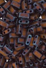 10 GM 5mm Tila 1/2 Cut : Matte Metallic Copper (APX 250 PCS)