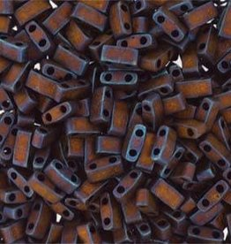 10 GM 5mm Tila 1/2 Cut : Matte Metallic Copper (APX 250 PCS)