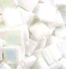 10 GM 5mm Tila Bead : Opaque Pearl White (APX 110 PCS)