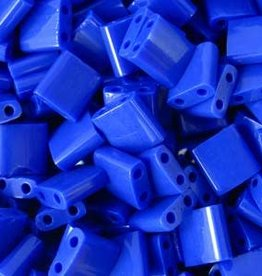 10 GM 5mm Tila Bead : Opaque Cobalt (APX 110 PCS)