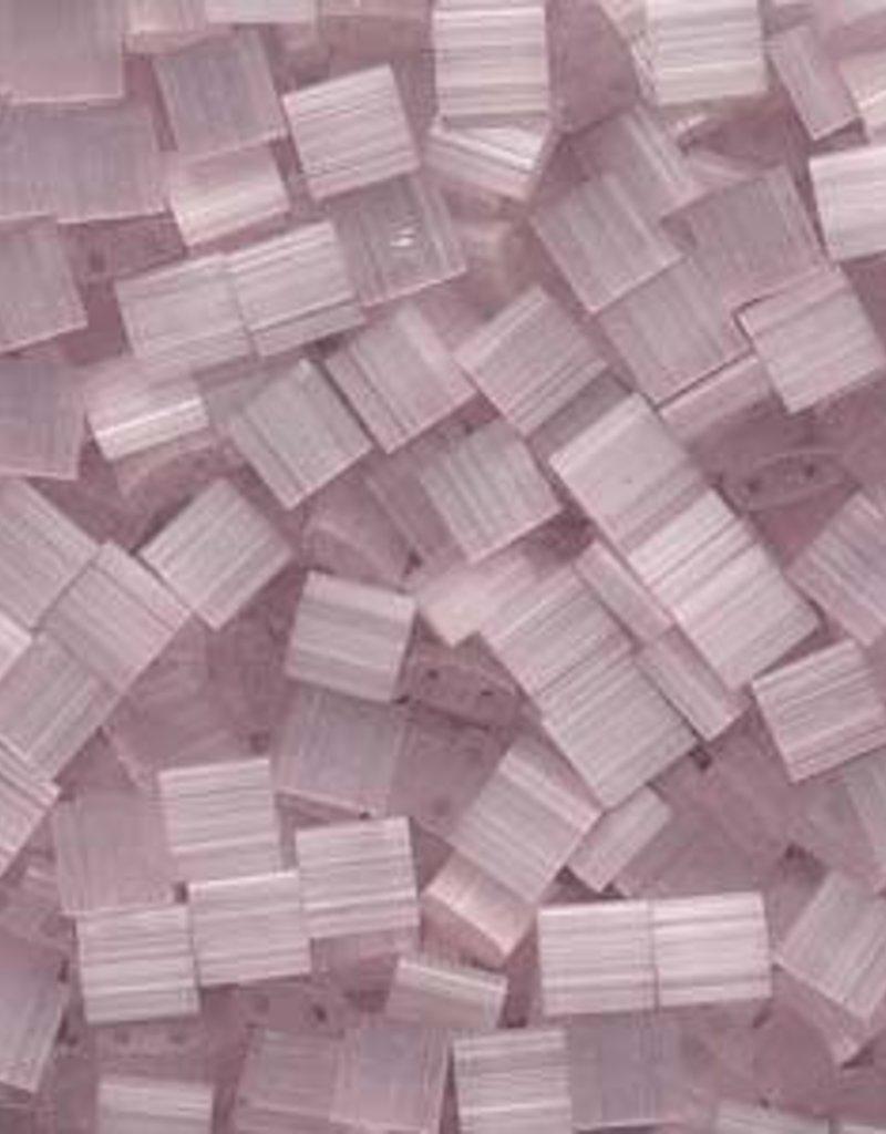 10 GM 5mm Tila Bead : Pink Silk Satin (APX 110 PCS)