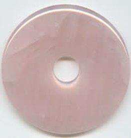 1 PC 40mm Rose Quartz Donut
