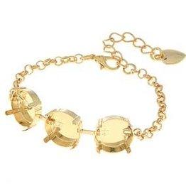 GP 14mm 3 Cup Rolo Chain Bracelet
