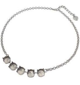 ASP 12mm 5 Cup Rolo Chain Necklace