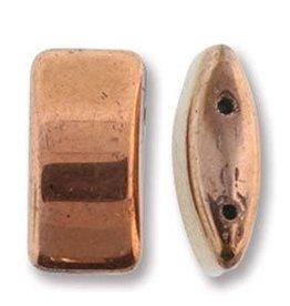 15 PC 9x17mm 2 Hole Carrier Bead : Capri