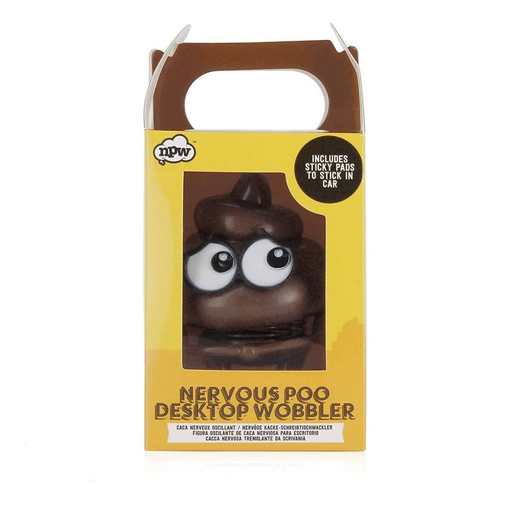 Nervous Poo Desktop Wobbler